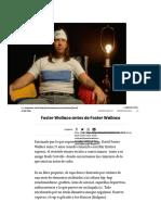 Foster Wallace Antes de Foster Wallace _ Culto