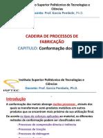 Processos de Fabricação Mecanica-i