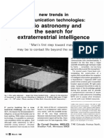 Radio Astronomy and the Search for Extraterrestial Intelligence