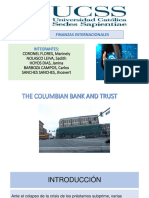 The Columbian Bank and Trust