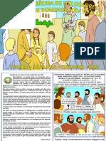 HOJITA EVANGELIO NIÑOS DOMINGO XXIV TO B 18 COLOR