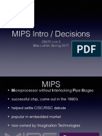 03 - MIPS Intro _ Decisions