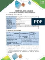 Guía de Actividades y Rúbrica de Evaluación - Tarea 2 - Realizar Ejercicios Química Descriptiva
