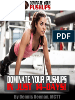 Dominate Your Pushups