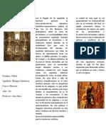 Arte y Cultura Colonial en El Perú