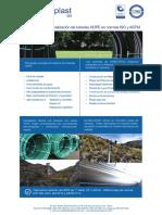Brochure Globalplast - Fabrica Tuberia HDPE 2015