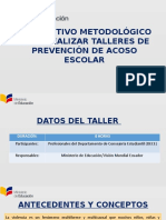 BULLYING - INSTRUCTIVO METODOLÓGICO Y TALLERES.pptx