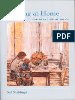 Starting at Home Caring and Social Policy