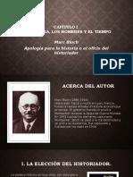 Apología Para La Historia o El Oficio Del Historiador Capitulo I