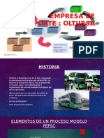 Ppt Empresa de Transporte