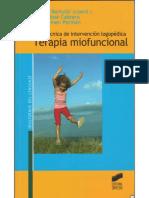Bartuilli. Terapia Miofuncional. Guía Técnica de Intervención Logopédica