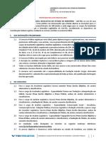 Retificado 1 Edital ALE-RO Nivel Medio e Superior 22.05.2018