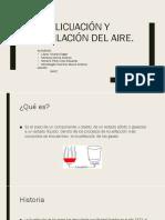 Licuación Y Destilación Del Aire