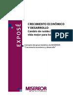 Economia - Creciemiento Economico y Desarrollo
