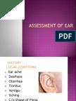Assessment of Ear