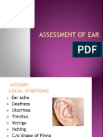 Assessment of Ear