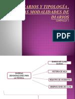 Diarios y Tipología , Modalidades