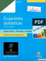 │ConCienCia│Raz. Matematico - Ecuaciones Diofanticas Lumbreras