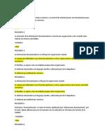 cuestionario 1DOCUMENTACION DE UN SISTEMA DE GESTION DE CALIDAD ISO 9001