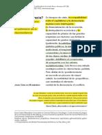 3 Posdemocracia - Juan Carlos Monedero.P19 DOS O TRES