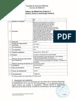 Syllabus de Medicina Interna 1(clinica)