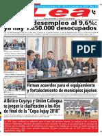 Periódico Lea Viernes 21 de Septiembre Del 2018