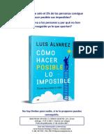 Como Hacer Posible Lo Imposible