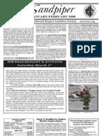 January-February 2008 Sandpiper Newsletter - Redwood Region Audubon Society