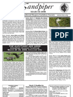 March 2008 Sandpiper Newsletter - Redwood Region Audubon Society