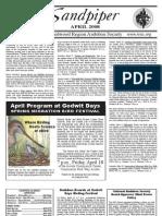 April 2008 Sandpiper Newsletter - Redwood Region Audubon Society