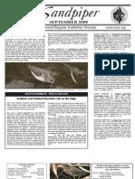 September 2008 Sandpiper Newsletter - Redwood Region Audubon Society