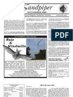 November 2008 Sandpiper Newsletter - Redwood Region Audubon Society