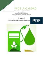 Ensayo 2 Desarrollo de Biocombustibles en México