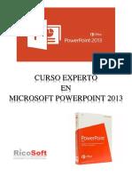 Microsoft PowerPoint Avanzado 2013