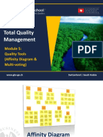 1465650997 TQM - 601 Module 5- Quality Tools - Affinity Diagram Multivoting