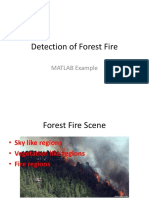 Detection of Forest Fire