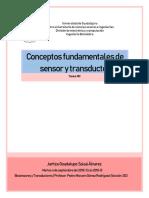 Principios sensores y transductores