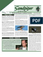 March 2009 Sandpiper Newsletter - Redwood Region Audubon Society