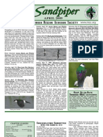April 2009 Sandpiper Newsletter - Redwood Region Audubon Society