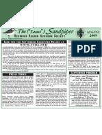 August 2009 Sandpiper Newsletter - Redwood Region Audubon Society