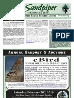 February 2010 Sandpiper Newsletter - Redwood Region Audubon Society