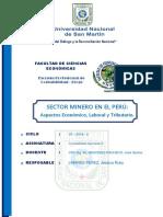 Sector Mineria - Trabajo de Investigación i