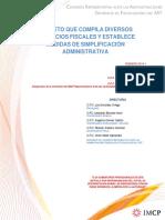 Decreto Que Compila Diversos Beneficios Fiscales