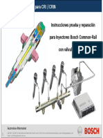 Reparacion de Inyectores Common Rail
