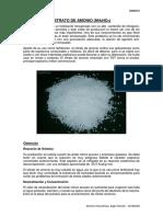 Obtención Del Nitrato de Amonio