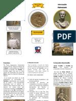 Triptico Roma y Su Imperio