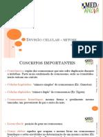 1 Divisão Celular - Mitose