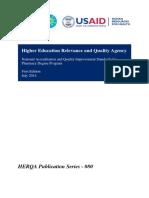 Pharmacy Program Standards(1)