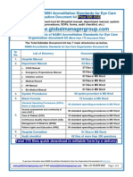 Download Free Demo of NABH Documentation Kit for Eye Care Accreditation