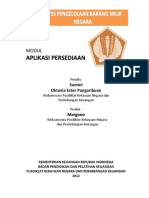 User Manual Aplikasi Persediaan